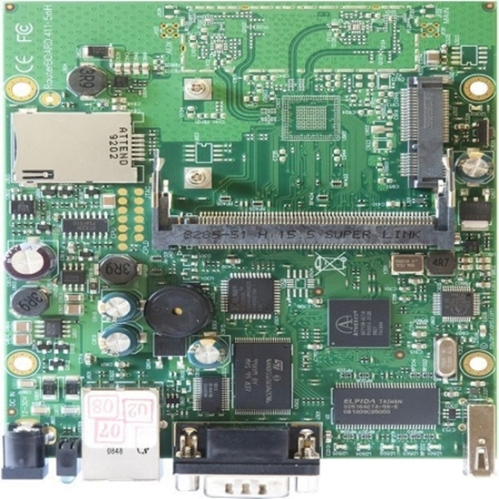 روتربرد میکروتیک مدل Mikrotik RouterBoard RB411U