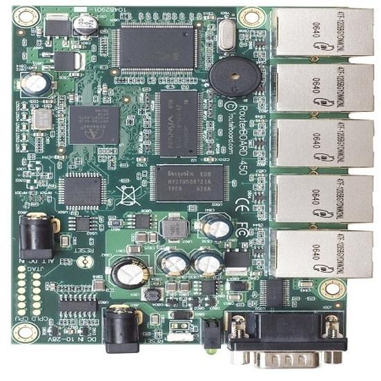 روتربرد میکروتیک مدل Mikrotik RouterBoard RB450