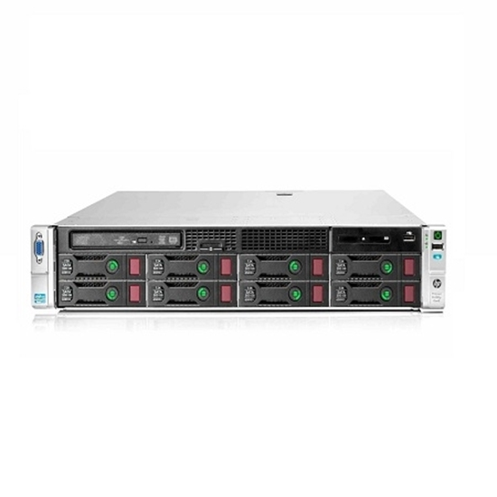 سرور اچ پی پرولینت سری DL مدل HP Proliant DL380P Gen8 E5-2650V2 با ۲۵ هارد SFF