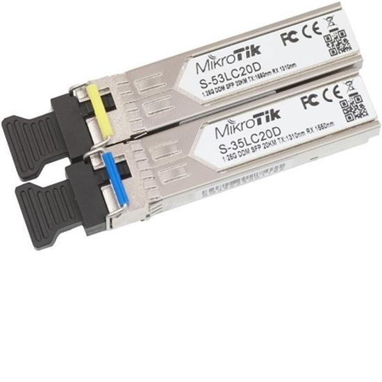 ماژول فیبر نوری میکروتیک مدل Mikrotik Optical Fiber Module S-3553LC20D