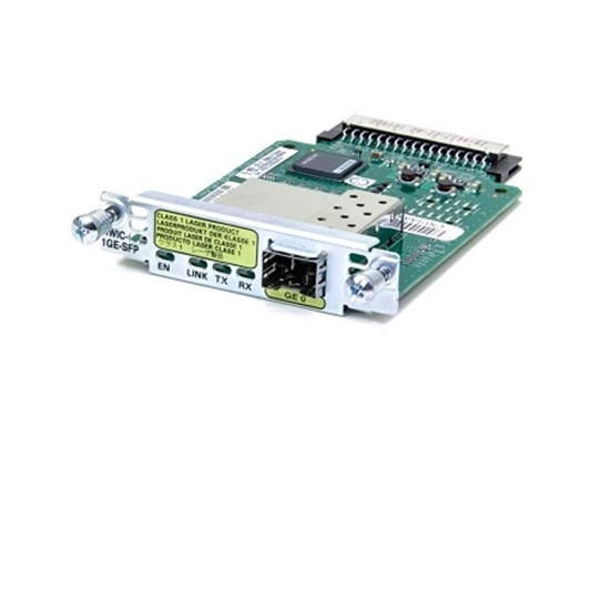 ماژول کارت شبکه سیسکو مدل Cisco Gigabit Ethernet Module HWIC-1GE-SFP
