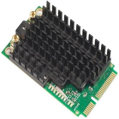 کارت وایرلس miniPCIe میکروتیک مدل Mikrotik miniPCIe Wireless Card ٍR11e-5HacD