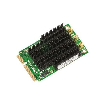 کارت وایرلس miniPCIe میکروتیک مدل Mikrotik miniPCIe Wireless Card ٍR11e-5HacT