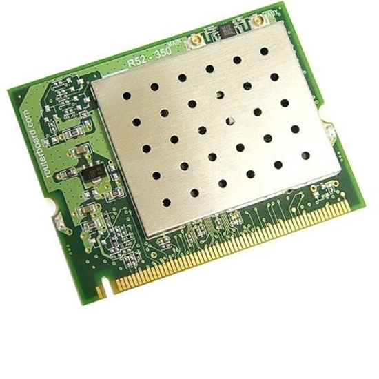 کارت وایرلس miniPCIe میکروتیک مدل Mikrotik miniPCIe Wireless Card ٍR52H