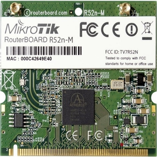 کارت وایرلس میکروتیک مدل Mikrotik Wireless Card ٍR52nM