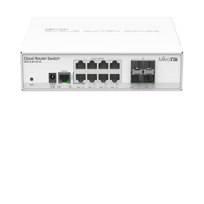 کلاود روتر سوئیچ میکروتیک مدل Mikrotik Cloud Router Switch CRS112-8G-4S-IN