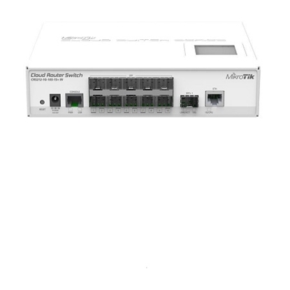 کلاود روتر سوئیچ میکروتیک مدل Mikrotik Cloud Router Switch CRS212-1G-10S-1S+IN