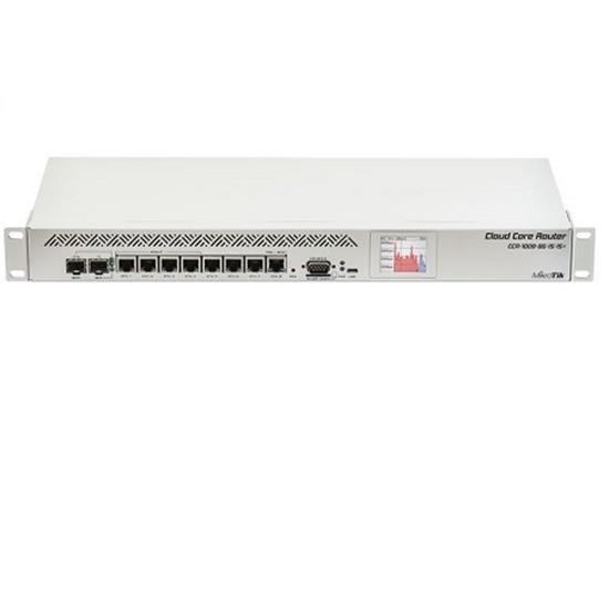کلاود کر روتر میکروتیک مدل +Mikrotik Cloud Core Router CCR1009-8G-1S-1S