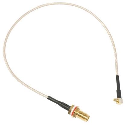 کابل مبدل پیگتیل مدل Mikrotik Pigtail Cable MMCX-RPSMA