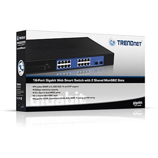 سوئیچ ۱۶ پورت ترندنت مدل Trendnet TEG-160WS
