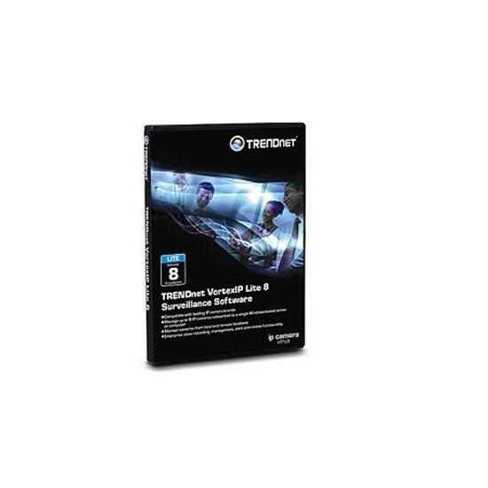 نرم افزار نظارت ترندنت TRENDnet VortexIP Lite 8
