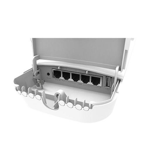 آنتن رادیو وایرلس میکروتیک مدل  mikrotik antenna OmniTIK 5 PoE ac (RBOmniTikPG-5HacD)