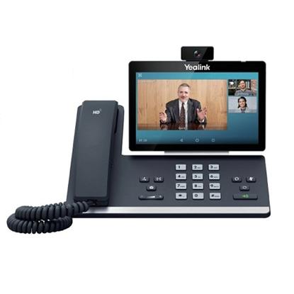 تلفن ویپ Yealink تصویری مدل T58V/A با دوربین