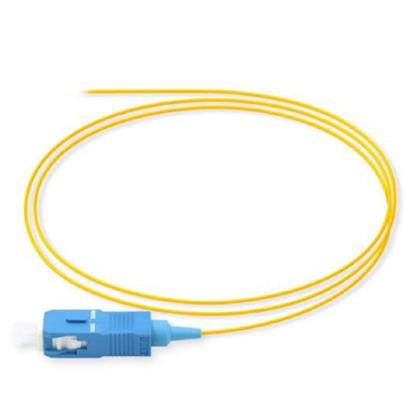 پیگتیل فیبر نوری SC یونینت، سینگل مد، ۲ متری Uninet
