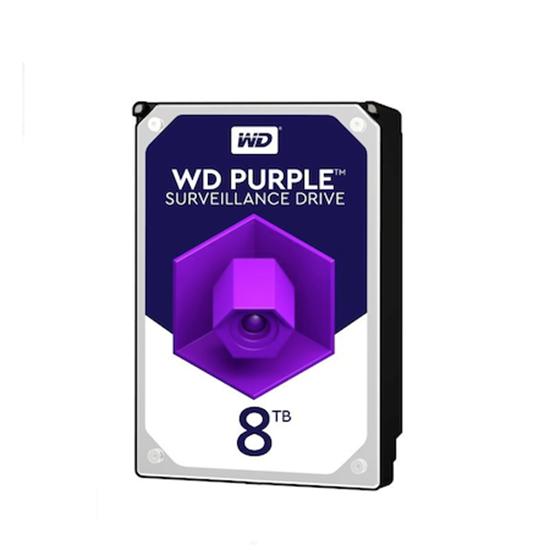 هارد دیسک اینترنال وسترن دیجیتال Purple WD80PURZ ظرفیت 8 ترابایت