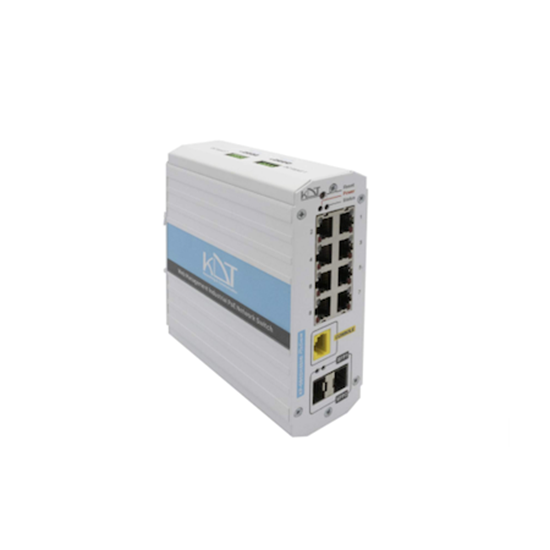 سوئیچ شبکه صنعتی PoE کی دی تی KDT KP-0402H4SMIU